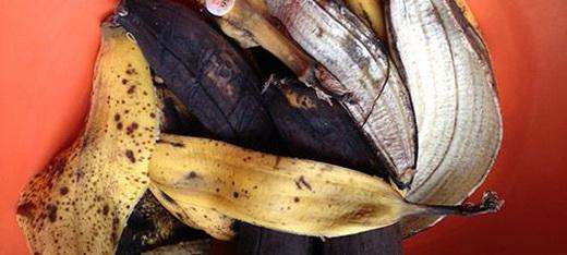 Банановая кожура для подкормки