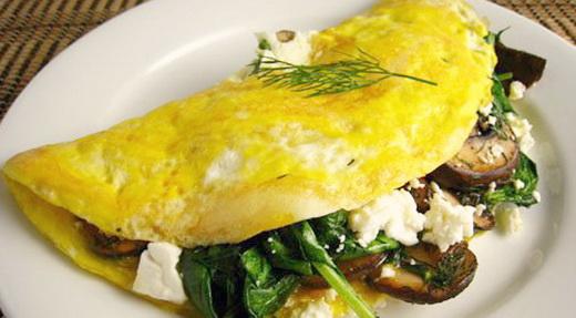 Рецепт завтрака лесника с белыми грибами